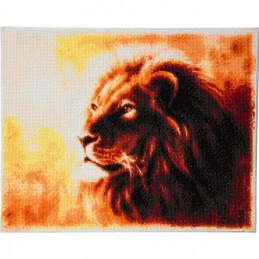 Broderie diamant Crystal Art Kit tableau 40x50cm Lion