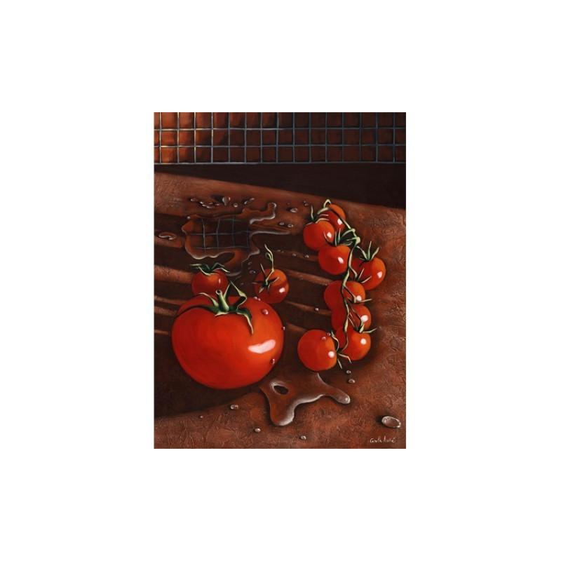 Image pour tableaux 3D - TOMATES - 30x40 - GK3040001 - Aux Bleuets Loisirs créatifs à Reims