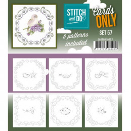 Cartes seules Stitch and do  - Set n°57