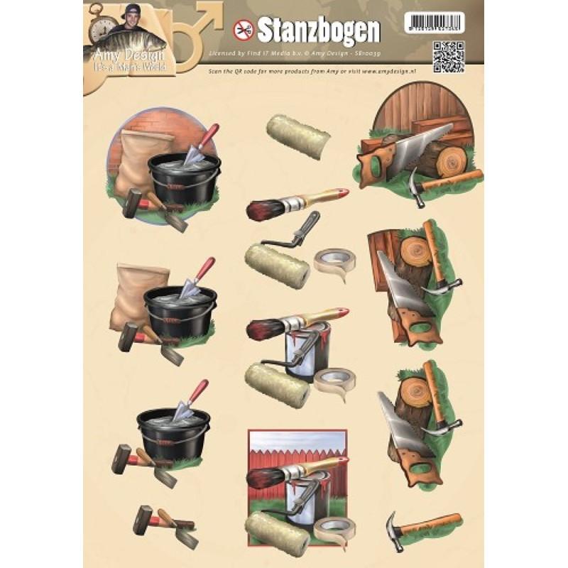 Carte 3D prédéc. - SB10038 -  Bricolage