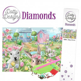 Dotty Designs Broderie Diamant - Bébés animaux