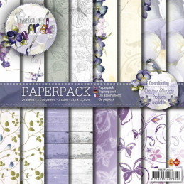 Bloc de papier - precious marieke - Collection printemps 15.2 x 15.2 cm