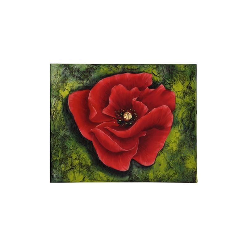Image pour tableaux 3D - GK3040024 - 30x40 - COQUELICOT ROUGES