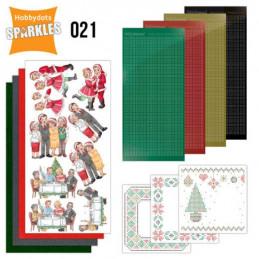 Kit Sparkles Set 21 - Noël en famille