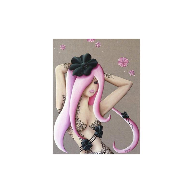 Image pour tableaux 3D GK4050016 Lilou tatoo - Aux Bleuets Loisirs créatifs à Reims