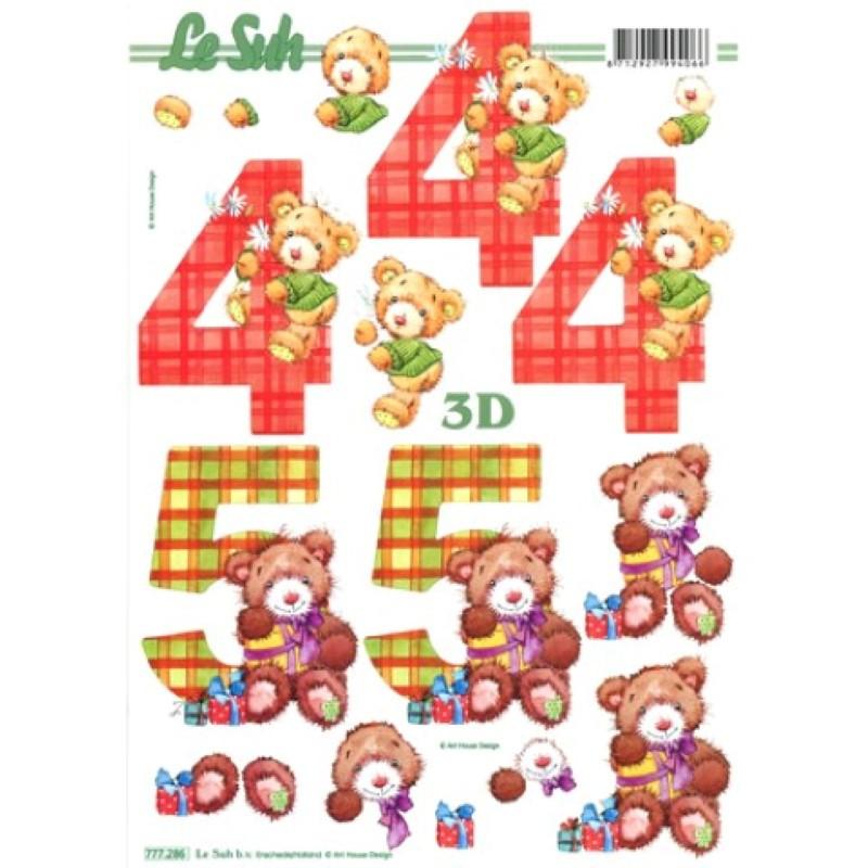 Carte 3D à découper - 4 et 5 ans - 777286