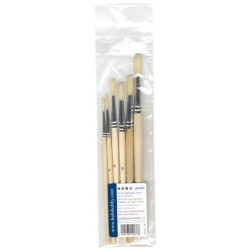 Artemio set 6 pinceaux ronds