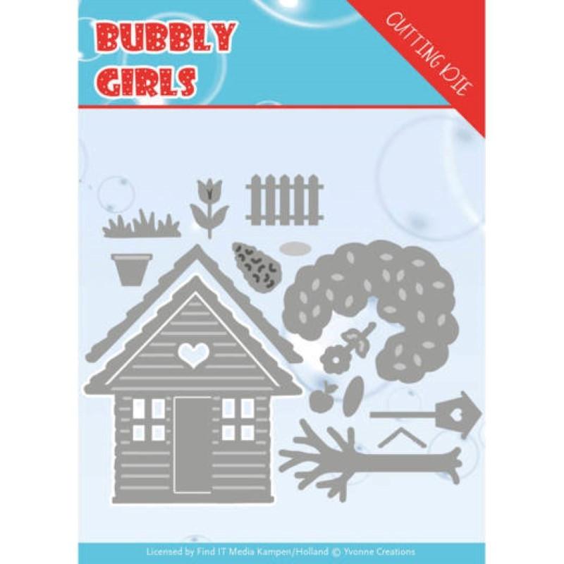Dies - Yvonne Creations - Bubbly girls - Dans le jardin