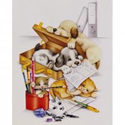 Image 3D - gk2430055 - 24x30 - Chiots et chatons