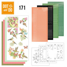Dot and do 171 - kit Carte 3D  - Joyeux printemps