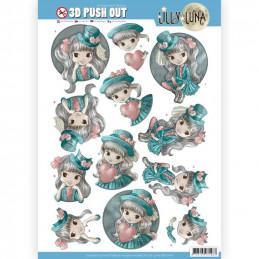 Carte 3D prédéc. - SB10418 - Lily luna - Chapeaux