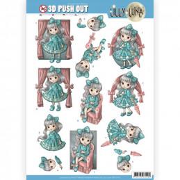 Carte 3D prédéc. - SB10419 - Lily luna - Jolis noeuds