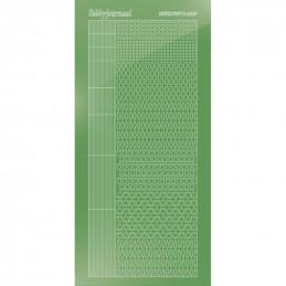 Stickers Hobbydots série 05 Miroir Lime