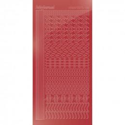 Stickers Hobbydots série 18 Miroir Rouge Noël