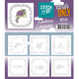 Cartes seules Stitch and do  - Set n°61