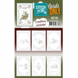 Cartes seules Stitch and do A6 - Set n°02