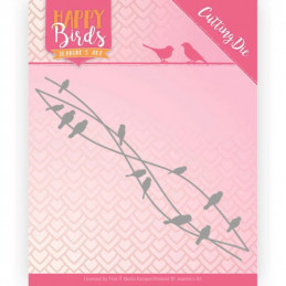 Jeaninnes art - JAD10088 - Happy Birds - Amis d'oiseaux