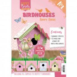 Livre de nichoirs - Jeanine's Art - Happy Birds