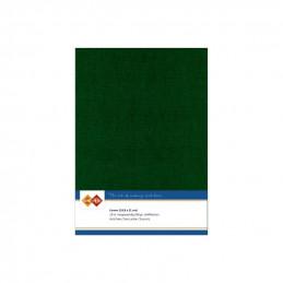 Carte 14.5 x 21 cm uni Vert Noël paquet de 10