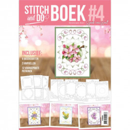 Stitch and Do Livre n°4 - Kit Carte 3D à broder