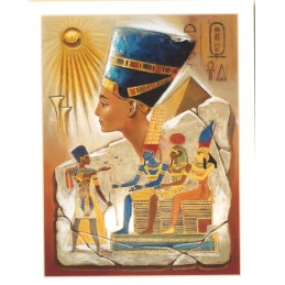 Image 3D - Kit 6 Images 3D 2-002 - 37.5 x 47.5 cm - Egypte Pharaon