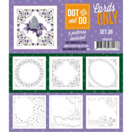 Dot and do Cartes n°36 - Lot de 6 Cartes seules