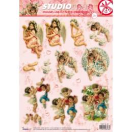 Carte 3D prédéc. - n°281- Les angelots