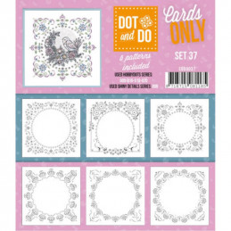 Dot and do Cartes n°37 - Lot de 6 Cartes seules