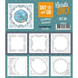 Dot and do Cartes n°38 - Lot de 6 Cartes seules