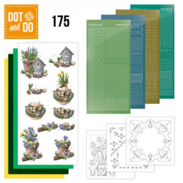 Dot and do 175 - kit Carte 3D  - Printemps botanique
