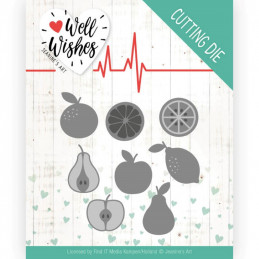Die - Jeaninnes art - JAD10093 - Well wishes - Fruits