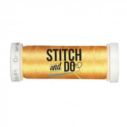 Fils à broder Stitch and Do bobine de 200m Orange doux
