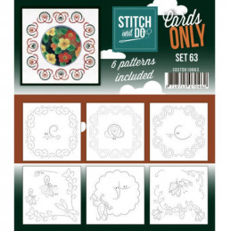 Cartes seules Stitch and do  - Set n°63