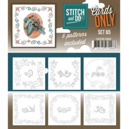 Cartes seules Stitch and do  - Set n°65