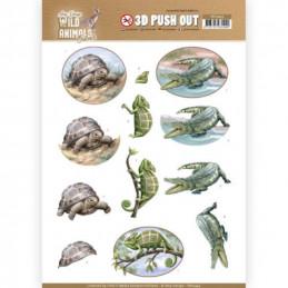 Carte 3D prédéc. - SB10443 - Wild animals - Reptiles