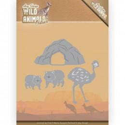 Die - ADD10207 - Wild Animals australie - Autruche et Wombat
