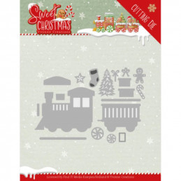 Dies - Yvonne Creations - Sweet christmas - Petit train