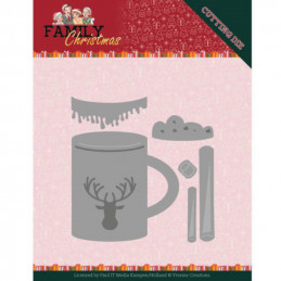 Dies - Yvonne Creations - Family christmas - Boisson chaude