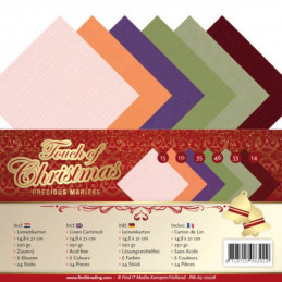 Set 24 cartes Touch of christmas A5
