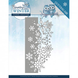 Dies - Yvonne Creations - Sparkling winter - Bordure étincelante