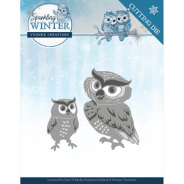 Dies - Yvonne Creations - Sparkling winter - Chouettes