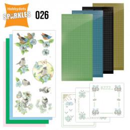 Kit Sparkles Set 26 - Oiseaux joyeux