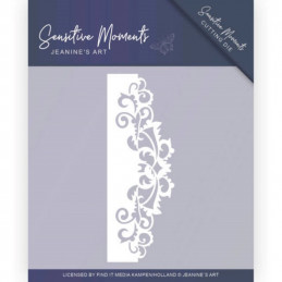 Die - Jeaninnes art - JAD10098 - Sensitive Moments - Bordure feuilles