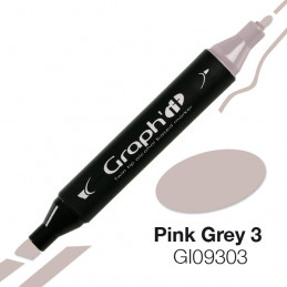 Graph'it marqueur à alcool 9303 - pink grey 3