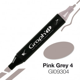 Graph'it marqueur à alcool 9304 - pink grey 4