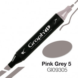 Graph'it marqueur à alcool 9305 - pink grey 5