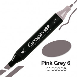 Graph'it marqueur à alcool 9306 - pink grey 6