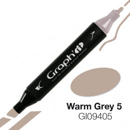 Graph'it marqueur à alcool 9405 - warm grey 5