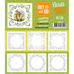 Dot and do Cartes n°39 - Lot de 6 Cartes seules