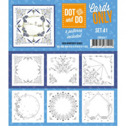 Dot and do Cartes n°41 - Lot de 6 Cartes seules